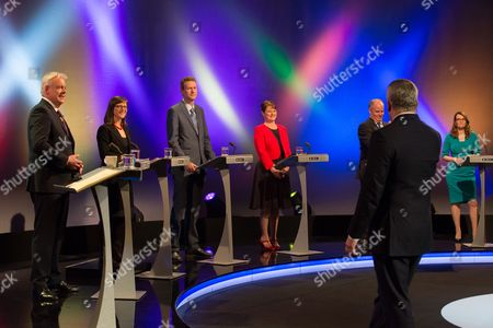 Stock Picture of Carwyn Jones, Alice Hooker-Stroud, Nathan Gill, Leanne Wood, Plaid Cymru, Andrew RT Davies, Kirsty Williams