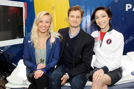 Jessica Long (Paralympian), Charlie White, Meryl Davis (Olympians)