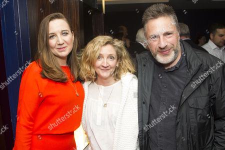 Josie Rourke (Director), Debra Gillett and Patrick Marber