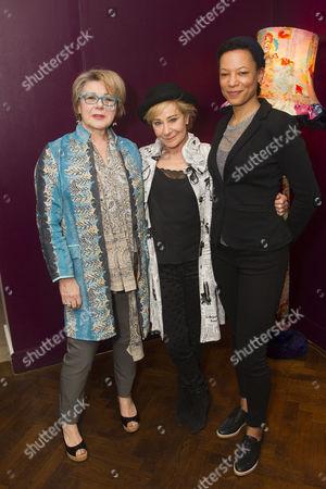 Barbara Flynn (Carrie), Zoe Wanamaker (Lorna) and Nina Sosanya (Miriam)