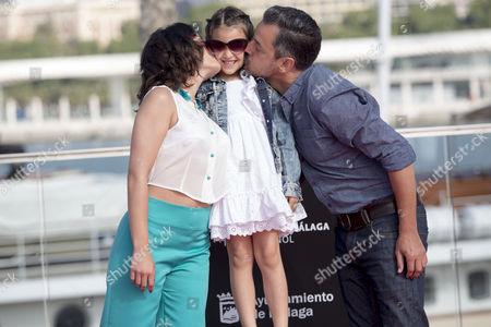 Rosalinda Galan, Zoe Gavira and Ander Duque
