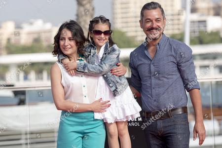 Stock Photo of Rosalinda Galan, Zoe Gavira and Ander Duque