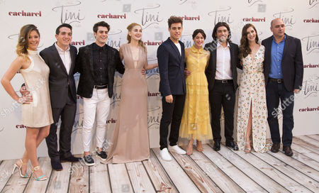 Georgina Amoros, Fran Viciana, Mercedes Lambre, Jorge Blanco, Martina Stoessel , Adrian Salzedo, Clara Alosno and Juan Pablo Buscarini