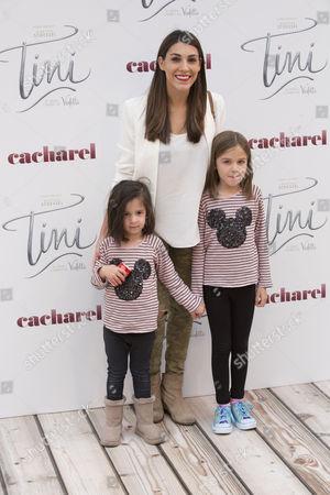 Stock Image of Tania Vazquez and children