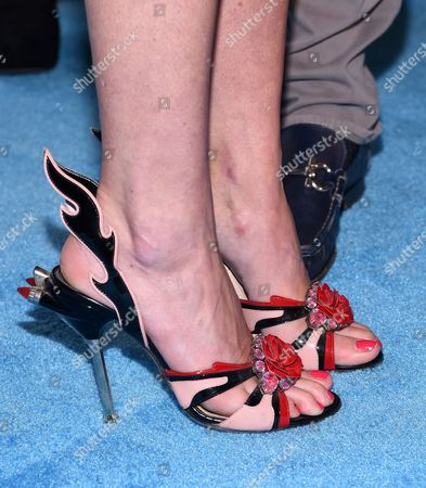 Landon Clements shoe detail