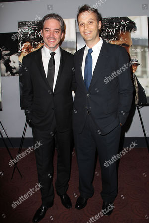 Stock Photo of Matthew Brown (Director) and Colby Brown (Composer)