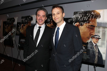 Editorial image of 'The Man Who Knew Infinity' film screening, Bow Tie Thearter, New York, America - 27 Apr 2016