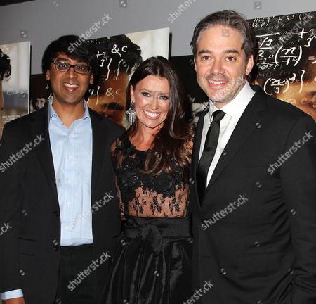 Manjul Bhargava, Melissa Harrington and Matthew Brown (Director)