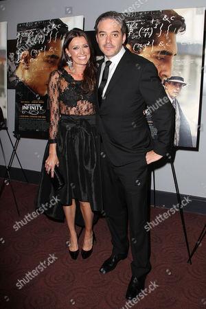 Melissa Harrington and Matthew Brown (Director)