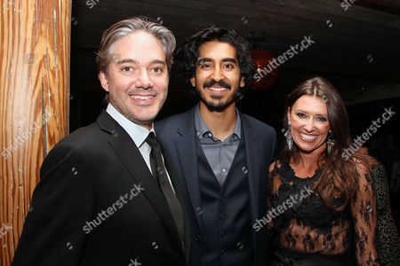 Matthew Brown (Director), Dev Patel and Melissa Harrington
