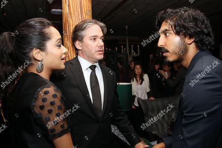Devika Bhise, Matthew Brown (Director) and Dev Patel