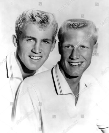 Stock Picture of Jan Berry and Dean Torrence - 1959
