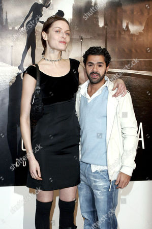 Rie Rasmussen and Jamel Debbouze