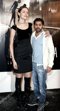 Jamel Debbouze and Rie Rasmussen