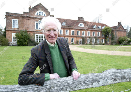 Features Special Robert Hardman Visits West Horsley Place Horsley Surrey. Picture Shows Bamber Gascoigne Outside West Horsley Place 500 Year Manor House Inherited By Accident.