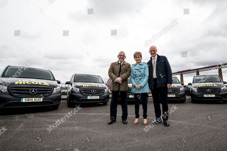 Editorial photo of Nicola Sturgeon visit to South Queensferry, Scotland, Britain - 28 Apr 2016