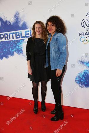 Anne Caroline Graffe (taekwondo) and Myriam Baverel (taekwondo)