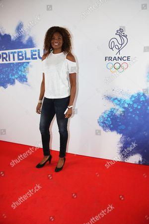 Stock Photo of Muriel Hurtis-Houairi