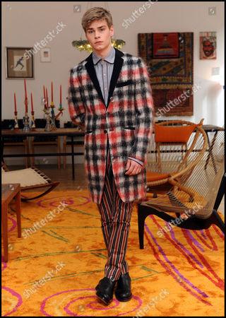 Editorial photo of Romeo Gigli photo shoot, Milan, Italy - 27 May 2014