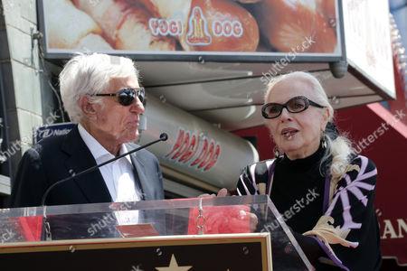 Dick Van Dyke and Barbara Bain