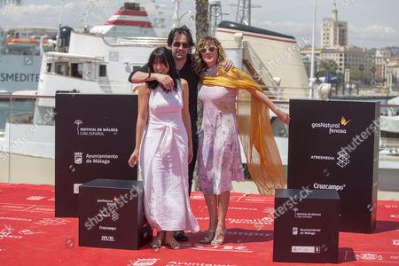 Isaki Lacuesta, Isa Campo and Emma Suarez