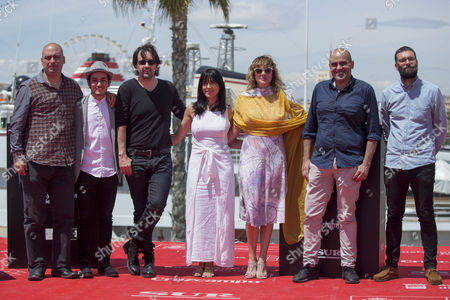 Stock Picture of Isaki Lacuesta, Isa Campo, Emma Suarez, Mikel iglesias, Rafael Portela, Oriol Maymo, Fran Araujo