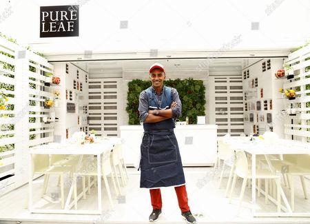 Editorial photo of Pure Leaf Tea House celebrates the 'Traveling Tea House' Kick-off, New York, America - 28 Apr 2016
