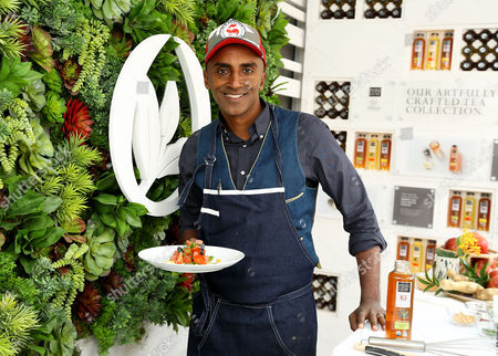 Stock Picture of Celebrity Chef Marcus Sameulsson