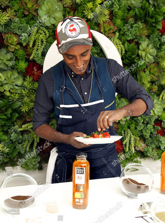 Celebrity Chef Marcus Sameulsson