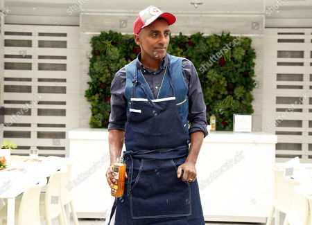 Stock Photo of Celebrity Chef Marcus Sameulsson