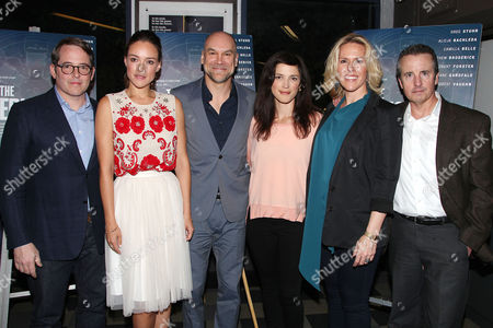 Stock Photo of Matthew Broderick, Alicja Bachleda, Greg Stuhr, Kelsey Seipser,Jenn