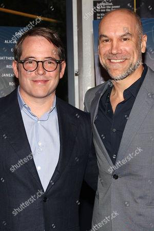 Stock Image of Matthew Broderick and Greg Stuhr (Writer)