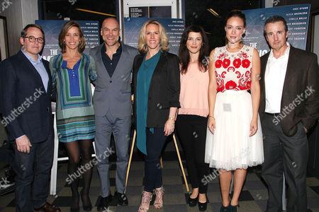 Matthew Broderick, Alicja Bachleda, Greg Stuhr, Kelsey Siepser, Jenna Ricker and Grant Shaud