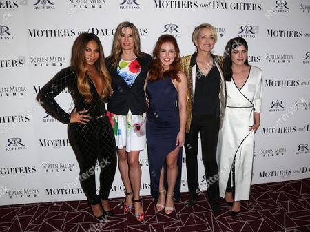 Ashanti, Mira Sorvino, Alexandra Daniels Sharon Stone and Selma Blair