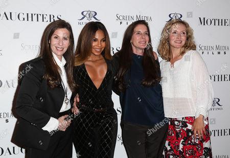 Mary Aloe, Ashanti, Amy Williams and Danielle James