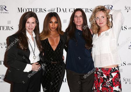 Stock Photo of Mary Aloe, Ashanti, Amy Williams and Danielle James
