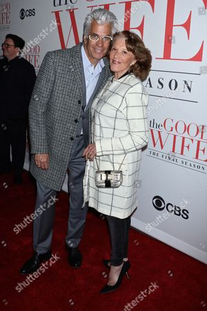 Editorial picture of 'The Good Wife' TV Series, Finale Party, New York, America - 28 Apr 2016