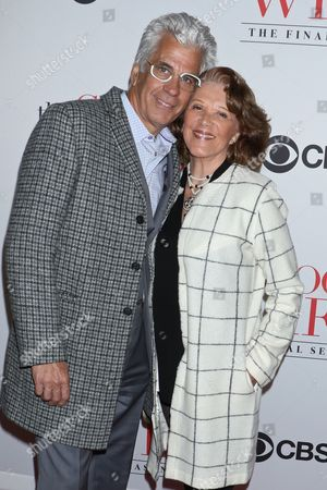 Stock Picture of Linda Lavin and Steve Bakunas