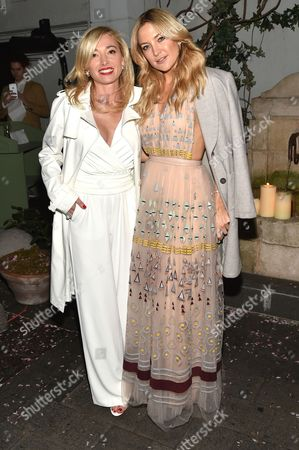 Stock Image of Federica Marchionni, Kate Hudson