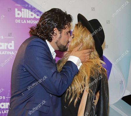 Editorial image of Latin Billboard Music Awards backstage, Miami, America - 28 Apr 2016