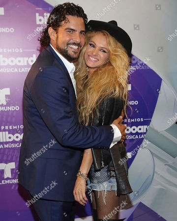 Editorial picture of Latin Billboard Music Awards backstage, Miami, America - 28 Apr 2016