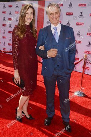 Stock Photo of Hayley DuMond and Keith Carradine