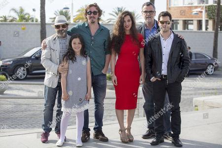 Eduard Cortes, Silvia Perez Cruz, Ivan Massague, Manuel Moron, Oriol Vila, Carla Fabregat