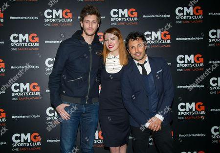 Jean Baptiste Maunier, Elodie Frege (C), Willy Rovelli