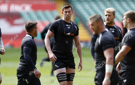 Tom Beard during training.