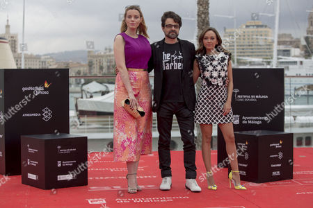 Stock Photo of Pedro Barbero, Carmen Maura and Luc'a de la Fuente