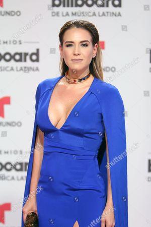 Editorial image of Latin Billboard Music Awards, Miami, America - 28 Apr 2016
