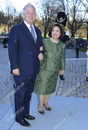 Crown Prince Alexander and HRH Crown Princess Katherine