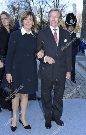 Prince Leopold of Bavaria and HRH Princess Ursula of Bavaria