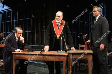Jonathan Cullen as Aslaksen, William Gaminara as Peter Stockton and Hugh Bonniville as Dr Thomas Stockman